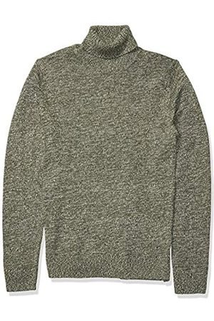 Goodthreads Supersoft Marled Turtleneck Sweater Olive