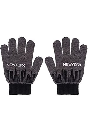 maximo Boy's Fingerhandschuh New York, Strick Gloves