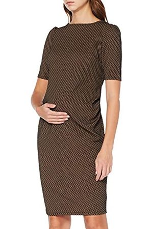 Dorothy Perkins Maternity Women's Jacquard 3/4 Sleeve Bodycon Dress