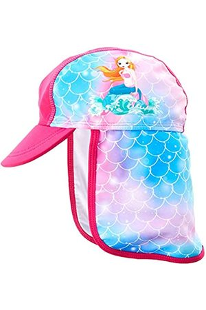 Playshoes Girl's Uv-Schutz Mütze Meerjungfrau Sun Hat