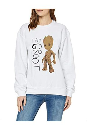 Marvel Women's Guardians of The Galaxy Vol.2 I Am Groot Scribbles T-Shirt