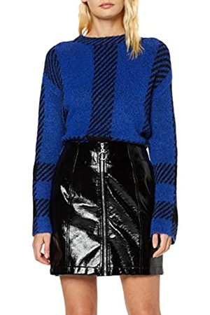 New Look Women's Vinyl Zip Through Skirt