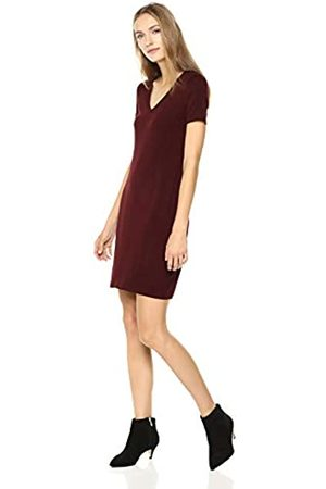 Daily Ritual Jersey Short-sleeve V-neck T-shirt Dress Casual