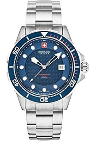 Swiss Military Mens Analogue Classic Quartz Watch with Stainless Steel Strap 06-5315.04.003