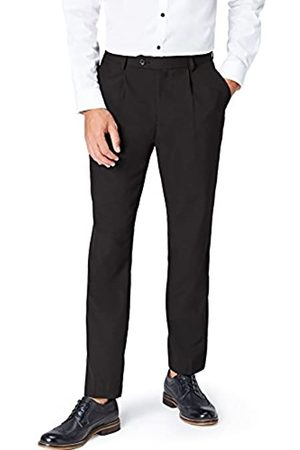 find. Amazon Brand - Men's Regular Fit Pleated Formal Trouser