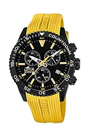 Lotus Mens Chronograph Quartz Watch with Plastic Strap 18672/4