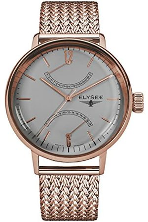 ELYSEE Unisex Adult Analogue Quartz Watch with Stainless Steel Strap 13290M