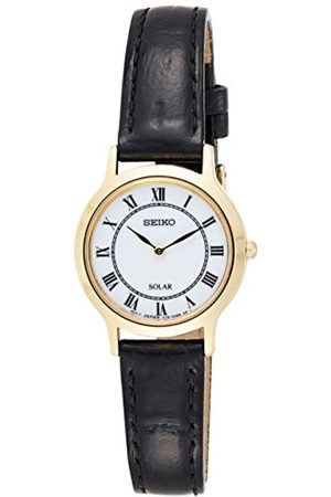 Seiko Women's Quartz Watch with Dial Analogue Display Quartz Leather SUP304P1
