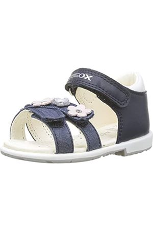 Geox Baby Girls' B Verred C Sandals, (Navy C4002)