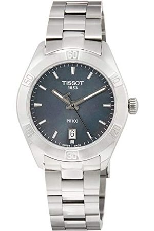 Tissot Womens Analogue Quartz Watch with Stainless Steel Strap T1019101112100