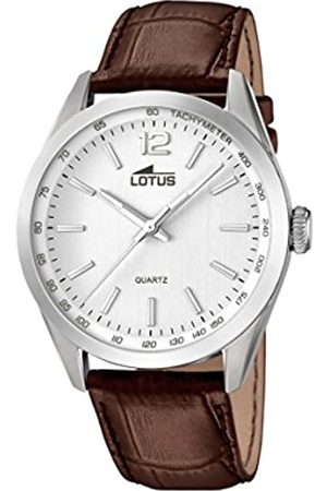 Lotus Men's Quartz Watch with Dial Analogue Display and Leather Strap 18149/1