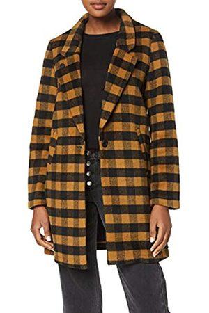 Scotch & Soda Maison Women's Bonded Wool Jacket in Checks