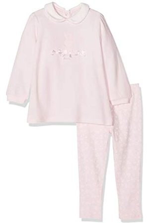 Chicco Baby Girls' Completo Abito Maniche Lunghe Con Leggings Footies