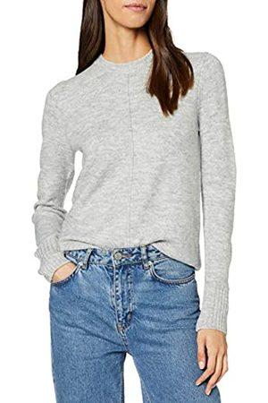 Warehouse Women's Raglan Pointelle Cosy Crew Sweater