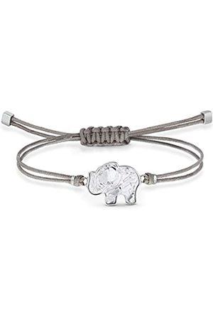 Swarovski Women's Gray Stainless steel Power Collection Elephant Bracelet 5518653