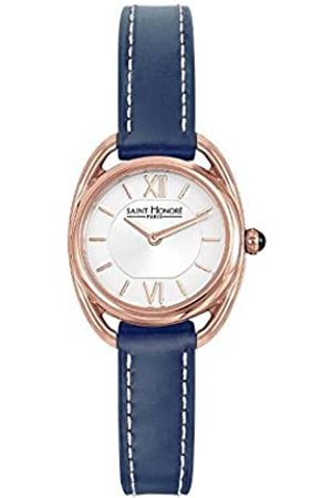 Saint Honore Women's Analogue Quartz Watch with Leather Strap 7210268AIR-BLU