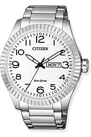 Citizen Mens Analogue Quartz Watch with Stainless Steel Strap BM8530-89AE