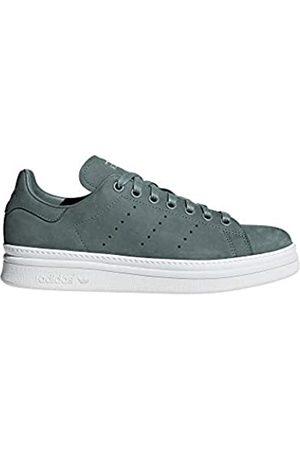 adidas Women's Stan Smith New Bold W Fitness Shoes, (Vernat/Vernat/Ftwbla 000)