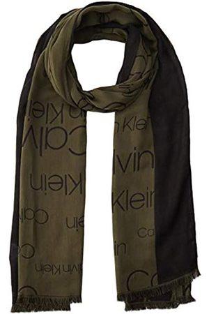 Calvin Klein Men's Avenue Logo Scarf 50x180cm