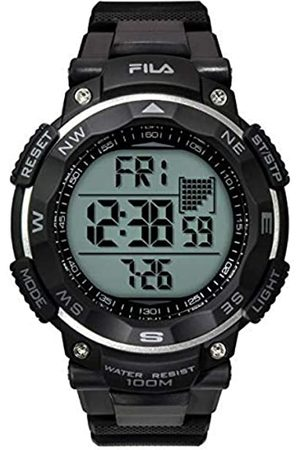 Fila Unisex Adult Digital Quartz Watch with PU Strap 38-824-103