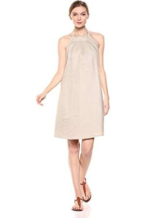 28 Palms Amazon Brand - 100% Linen Halter Shift Dress Casual