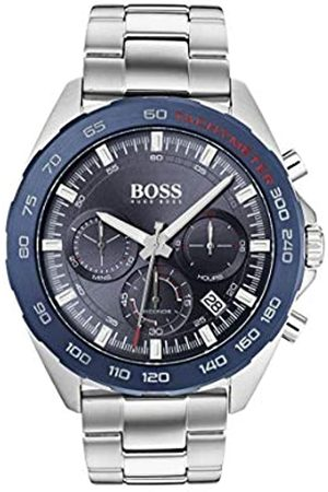 Hugo Boss Mens Chronograph Quartz Watch with Stainless Steel Strap 1513665