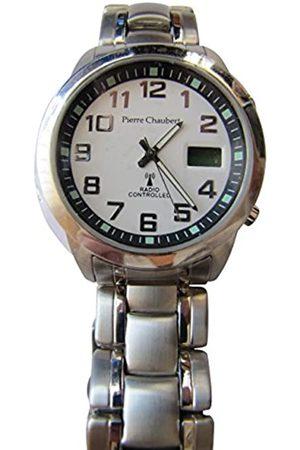 Pierre Chaubert Men's Quartz Watch Display and Stainless Steel Strap RADDSS39SV24