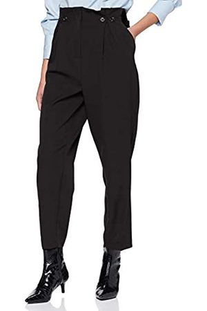 New Look Women's Button Pleat Front Trouser