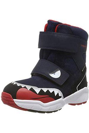 Superfit Boys' Culusuk 2.0 Snow Boots, (Grau/Rot 20)