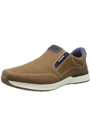 s.Oliver Men's 5-5-14605-22 305 Loafers, (Cognac 305)
