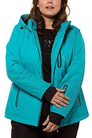 Ulla Popken Women's Skijacke Carbon Optik Jacket