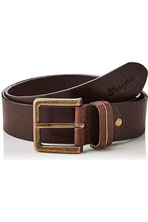 Wrangler Men's Metal Stripe Belt