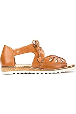 Pikolinos Leather Flat Sandals Alcudia W1L