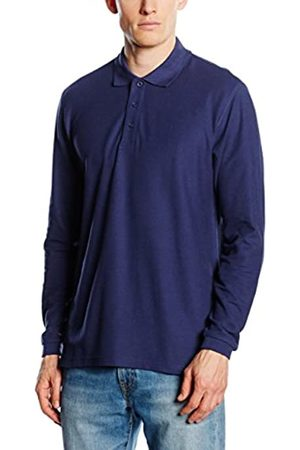 Fruit Of The Loom Men's Premium Long Sleeve Polo Shirt