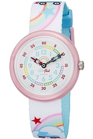 FlikFlak Girls Analogue Quartz Watch with Textile Strap FBNP102