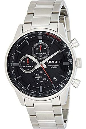 Seiko Mens Chronograph Quartz Watch with Stainless Steel Strap SSB313P1