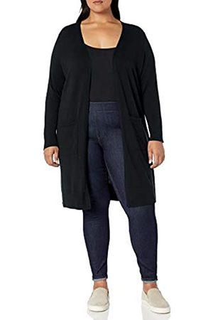 Amazon Plus Size Lightweight Longer Length Cardigan Sweater