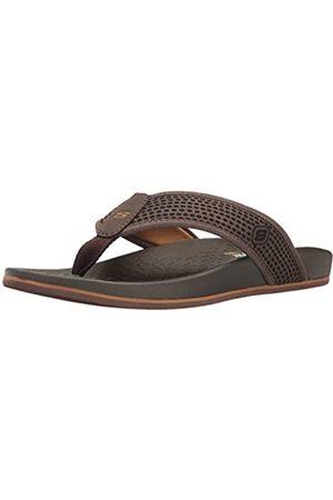 Skechers Men's 65093 Flip Flops, (Dark )