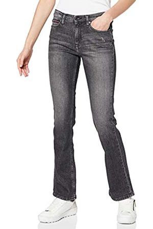 Tommy Hilfiger Women's Maddie MR Bootcut ZBKC Straight Jeans