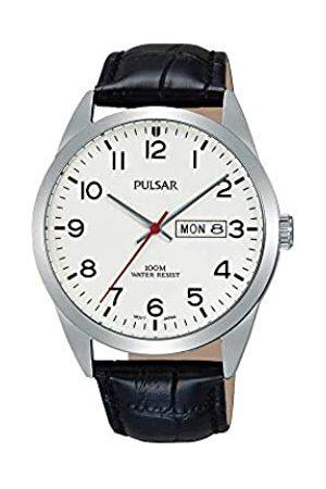 Pulsar Men's Watch Analogue Quartz Leather PJ6065X1