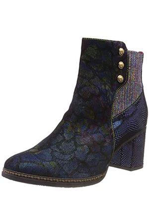 LAURA VITA Women's Eliane 05 Chelsea Boots, (Bleu Bleu)