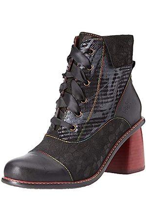 Laura Vita Women's Evcao 11 Ankle Boots, (Noir Noir)