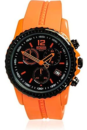 Munich Unisex Adult Analogue Quartz Watch with Silicone Strap MU+101.5A