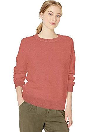 Daily Ritual Cozy Boucle Crewneck Pullover Sweater Dusty Rose