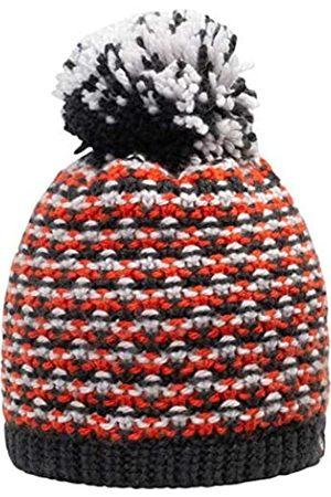 Giesswein Beanie Turnerkamp neon ONE - Cuddly Knitted hat for Children, Merino Wool, Fluffy Bobble Made of Wool, Warm Fleece Lining