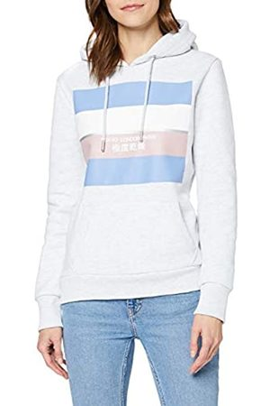 Superdry Women's Stripe Block Entry Hood Hoodie