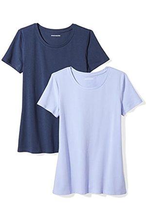 Amazon Essentials 2-pack Short-sleeve Crewneck Solid T-shirt ( /Navy)