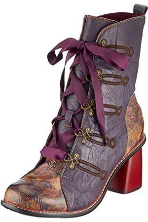 LAURA VITA Evcao 01, Women's Ankle boots, (Violet Violet)