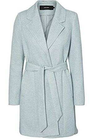 Vero Moda Women's Vmbrushedkatrine 3/4 Jacket Boos Wool Blend Coat