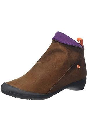 softinos Women's Farah Ankle Boots, (Cognac/ Mohair 590)